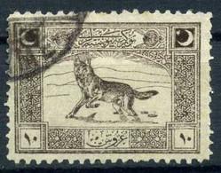 Turkey 1922 - Mi. 772 O, Gray Wolf (Bozkurt) - Used Stamps