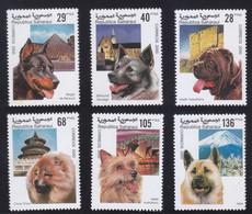 Saharaui 2000 Dog Chien MNH 6V ** - Autres - Afrique