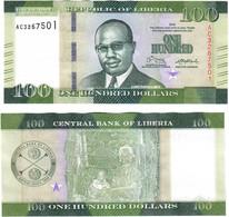 Liberia 100 Dollars 2016 UNC - Liberia