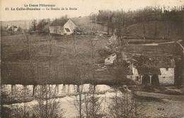 """/ CPA FRANCE 23 """"La Celle Dunoise, Le Moulin De La Barde"""" - Other Municipalities"""