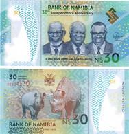 Namibia 30 Dollars 2020 UNC - Namibia