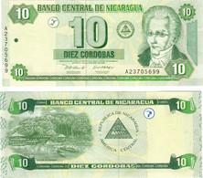 Nicaragua 10 Cordobas 2002 UNC - Nicaragua