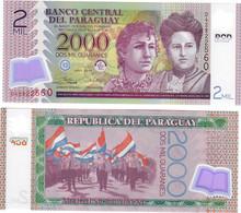 Paraguay 2000 Guaranies 2017 UNC - Paraguay