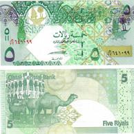Qatar 5 Riyals 2008 UNC - Qatar