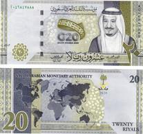 Saudi Arabia 20 Riyals 2020 UNC - Saudi Arabia