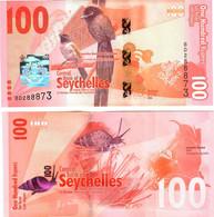 Seychelles 100 Rupees 2016 UNC - Seychelles