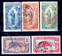 Congo-Francese-009- Emissione 1907-17 (o) Used - Senza Difetti Occulti. - Gebraucht