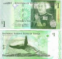 Tonga 1 Pa'anga 2008 (2014) UNC - Tonga