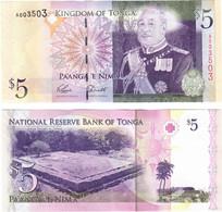 Tonga 5 Pa'anga 2008 UNC - Tonga