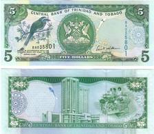 Trinidad And Tobago 5 Dollars 2006 UNC - Trinidad & Tobago