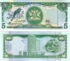 Trinidad And Tobago 5 Dollars 2017 UNC - Trinidad & Tobago