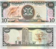 Trinidad And Tobago 10 Dollars 2017 UNC - Trinidad & Tobago