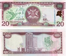 Trinidad And Tobago 20 Dollars 2017 UNC - Trinidad & Tobago