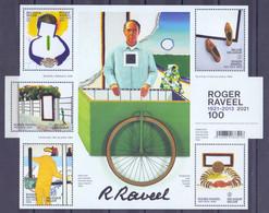 Belgie - 2021- 100 Jaar Roger Raveel - MNH - Nuevos
