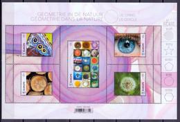 Belgie - 2021- Geometrie In De Natuur De Cirkel - MNH - Nuevos