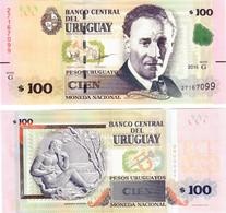 Uruguay 100 Pesos 2015 UNC - Uruguay