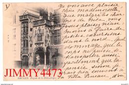 CPA - BRUGES En 1899 - Façade De La Bibliothèque ( Province De Flandre Occidentale ) Edit. G. H. - Brugge