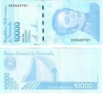 Venezuela 10000 Bolivares 2019 UNC - Venezuela
