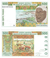 Benin 500 Francs 2002 UNC (West African States CFA) - Benin