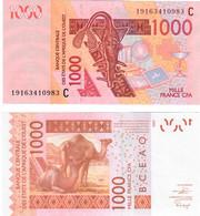 Burkina Faso 1000 Francs 2019 UNC (West African States CFA) - Burkina Faso