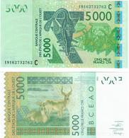 Burkina Faso 5000 Francs 2019 UNC (West African States CFA) - Burkina Faso