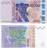 Burkina Faso 10000 Francs 2019 UNC (West African States CFA) - Burkina Faso
