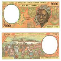 Central African Republic 2000 Francs 1999 UNC (Central African States CFA) - Central African Republic
