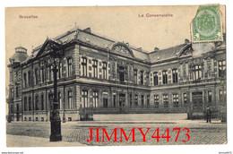 CPA - BRUXELLES Belgique En 1909 - Le Conservatoire - N° 1907 Imp. Heiss & Co., Cologne - Monuments