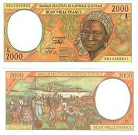 Gabon 2000 Francs 2000 UNC (Central African States CFA) - Gabon