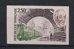 France - 1987 - N°Yv. 2452a - Métro - Non Dentelé / Imperf. - Neuf Luxe ** / MNH / Postfrisch - Varieteiten: 1980-89 Postfris