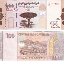 Yemen 100 Rials 2018 UNC - Yemen