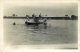 CAUDEBEC EN CAUX HYDRAVION SANTOS DUMONT PHOTO ORIGINALE 15 X 10 CM - Aviation