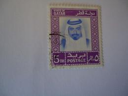 QATAR USED   STAMPS  KING - Qatar