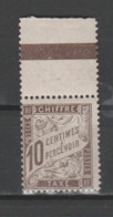 FRANCE / 1893 - 1935 / Y&T TAXE N° 29 ** : Duval 10c Brun X 1 BdF Haut - 1859-1955 Neufs