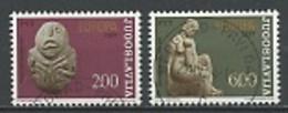 Yougoslavie - Jugoslawien - Yugoslavia 1974 Y&T N°1438 à 1439 - Michel N°1557 à 1558 (o) - EUROPA - Used Stamps