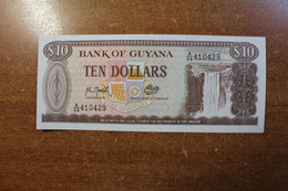 Guyana 10 Dollars UNC RK - Guyana