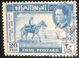Iraq - Irak - L1/11 - (°)used - 1949 - Michel 157 - 75 Jaar UPU & Koning Ghazi I - Irak