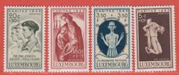 1945 Luxemburg  ** (sans Charn., MNH, Postfrisch)  Yv  384/7Mi  395/8 - Nuevos