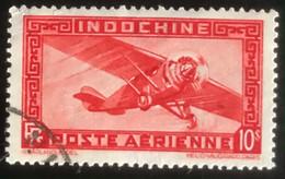 Indochine - L1/11 - (°)used - 1933 - Michel 197 - Vliegtuig - Luftpost