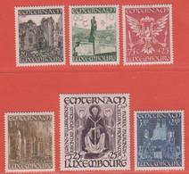 1947 Luxemburg  ** (sans Charn., MNH, Postfrisch)  Yv  392/7Mi  417/22 - Nuevos
