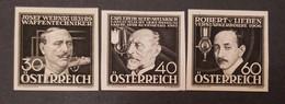 O) 1936 AUSTRIA, SUNKEN DIE PROOF, INVENTORS, JOSEF WERNDL WEAPONS PRODUCTS, ENERGY, CARL AUER VON WELSBACH LIGHT BULB, - Errores & Curiosidades
