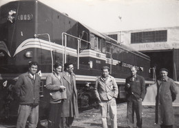 Knin - Dizel Depot , Railway Station Bahnhof , Train Locomotive JZ 661-005 - Croatia
