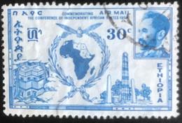 Ethiopie - Ethiopia - L1/11 - (°)used - 1958 - Michel 368 - Accra Conferentie - Äthiopien