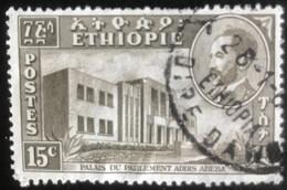 Ethiopie - Ethiopia - L1/11 - (°)used - 1953 - Michel 327 - Parlementsgebouw - Äthiopien