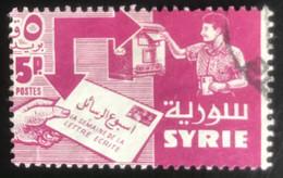 Syrie - Rép. Syrienne - L1/11 - (°)used - 1957 - Michel 744 - Correspondentie Week - Siria