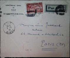 G 4 1935 Controle Civil De Salé - Poste Aérienne