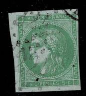 A1D- N°42. Timbre Sans Défaut. Filet Présent - 1870 Emissione Di Bordeaux