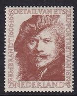 Netherlands 1956, Rembrandt, Nvphnr 675 Mlh. Cv 15,50 Euro - Unused Stamps
