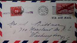 G 4 1945 Lettre Taxée - Briefe U. Dokumente