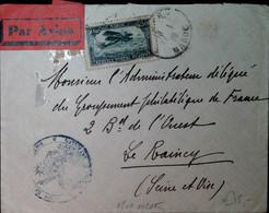 G 4 1920/......lettre  Avec Cachet Militaire - Poste Aérienne